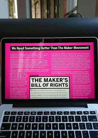 We Need Something Better Than The Maker Movement