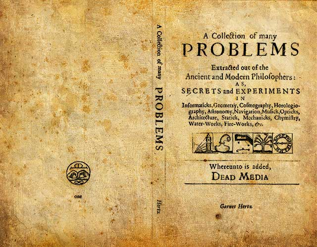 A Collection of Many Problems (In Memory of the Dead Media Handbook)